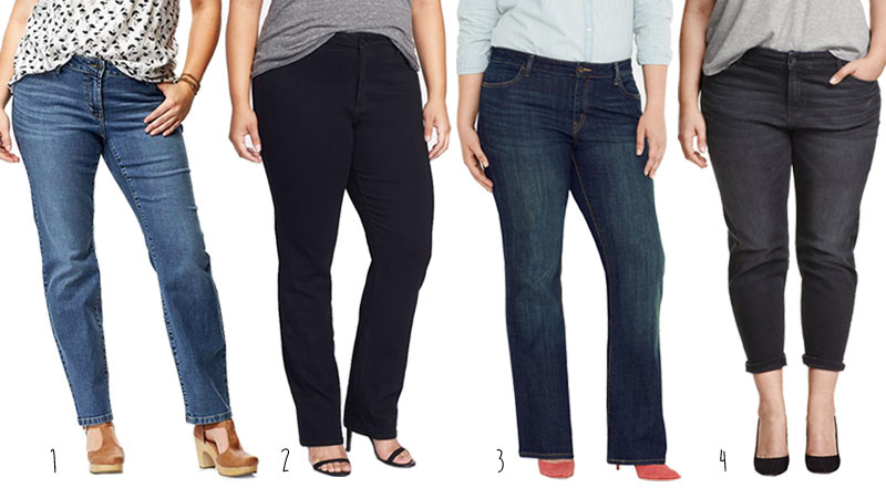 The Best Jeans for Apple Shapes