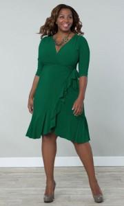 Plus size dress apple shape