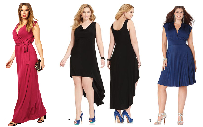 3 Curve Flattering Party Dresses Under 50