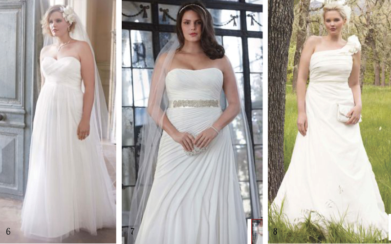 Davids Bridal Plus Size Wedding Dresses-