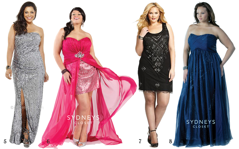 Prom Dresses For Apple Shape Plus Size Tops