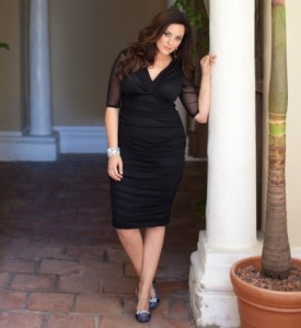 Dress Alert: Vintage Plus Size LBD