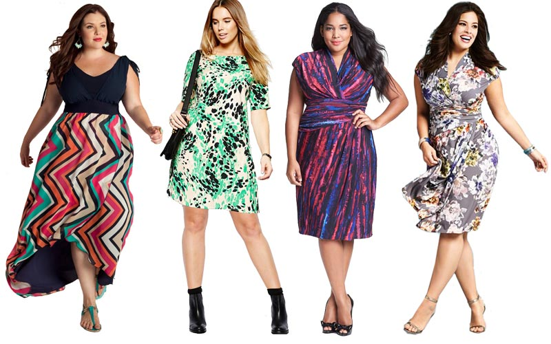4 Trendy Plus Size Dresses 2017