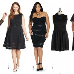 5 Plus Size Black Dresses