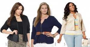 3 Cool and Trendy Plus Size Peplum Blazers