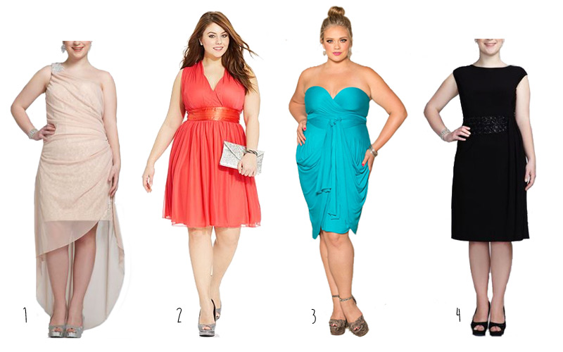 Curvy and Plus Size Party Dresses
