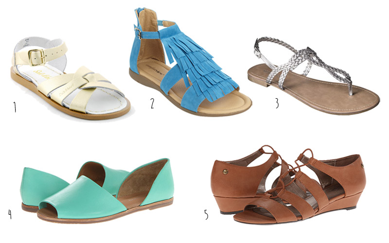 Cute Sandals for Wide Feet for Summer 2014 99302bfef444