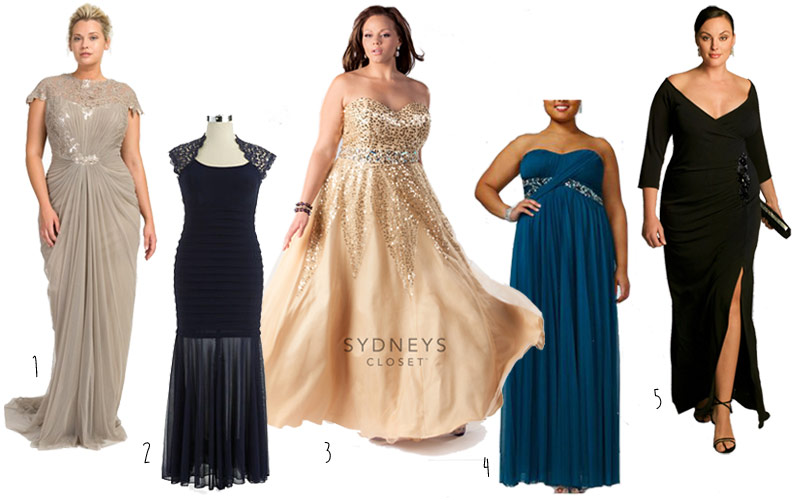 Plus Size Gowns For Weddings Black Tie Parties And Prom