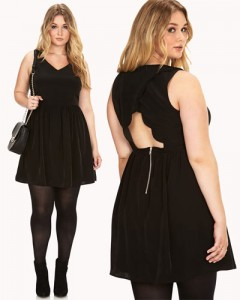 6 Different Plus Size Black Dresses