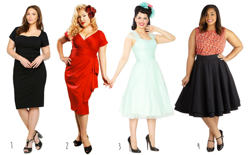 Plus-Size-Vintage-Dresses-