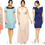 5 Plus Size Wedding Guest Dresses for 2014
