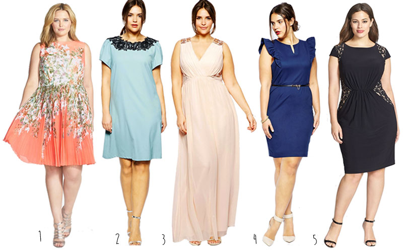 Ladies plus size dresses for summer weddings