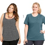 Plus Size Workout Tops for Tights