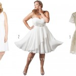 3 Short Plus Size Wedding Dresses
