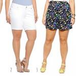 Cute Plus Size Shorts