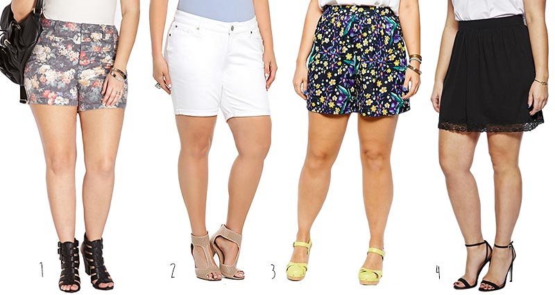 Cute-Plus-Size-Shorts-