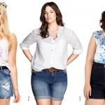 3 Ways to Wear Plus Size Jean Shorts