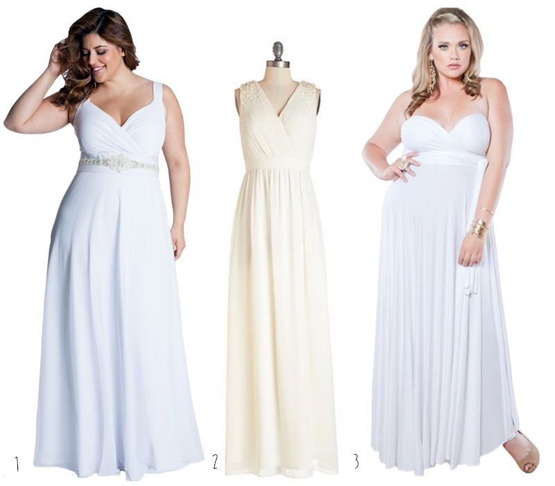 Simple-Plus-Size-Wedding-Dresses-