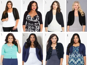 Plus Size Shrugs and Boleros