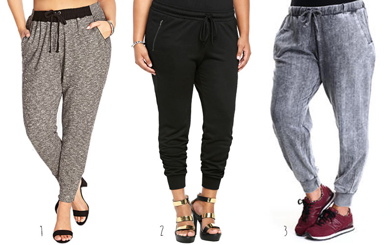 Sweat pants for plus size