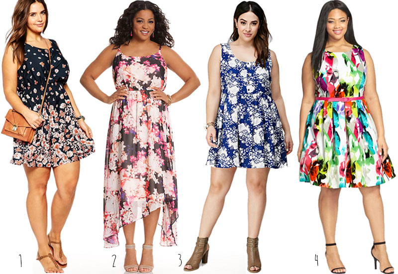 4 Cute Plus Size Sundresses