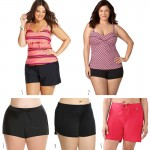 Plus Size Swim Shorts