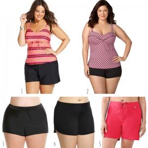 Plus Size Swim Shorts
