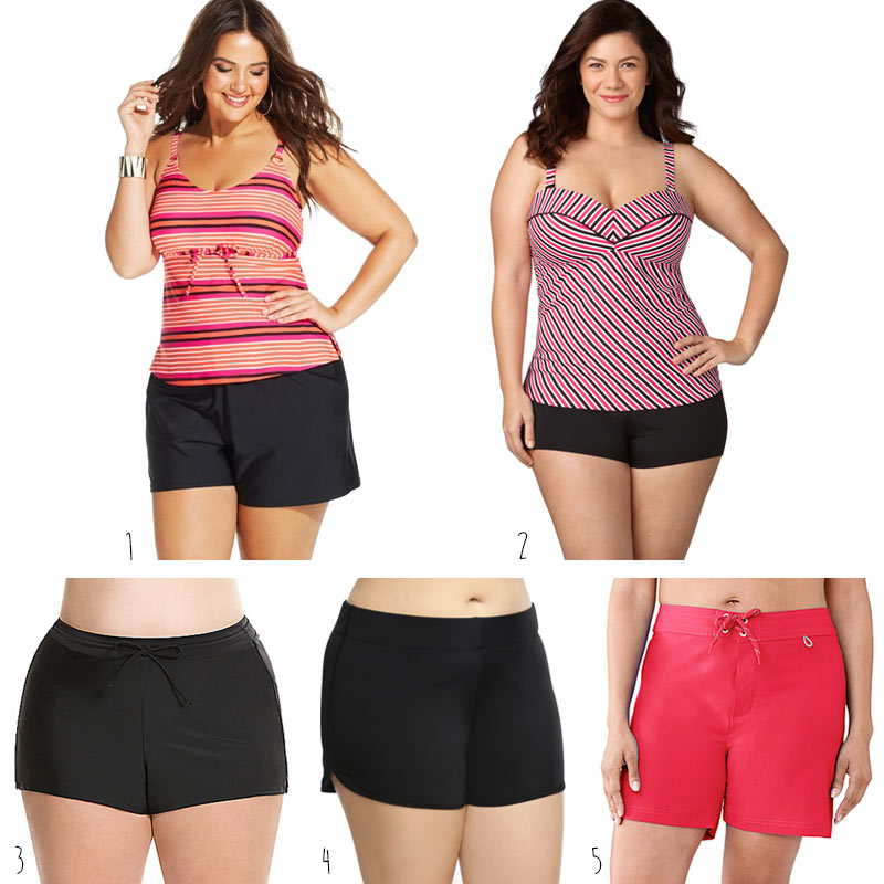 f2a9aca7c26 Plus Size Swim Shorts