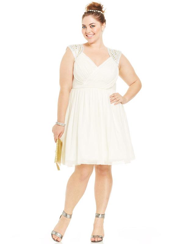 best plus size prom dresses 2015