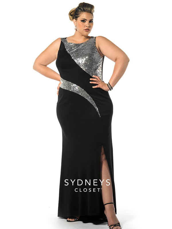 Plus-Size-Prom-Dress-Sequins