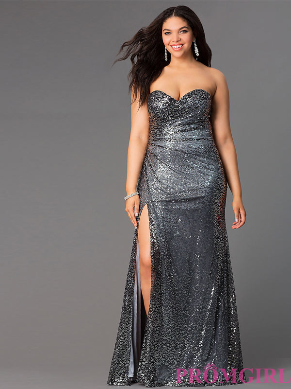 Sexy Plus Size Prom Dresses