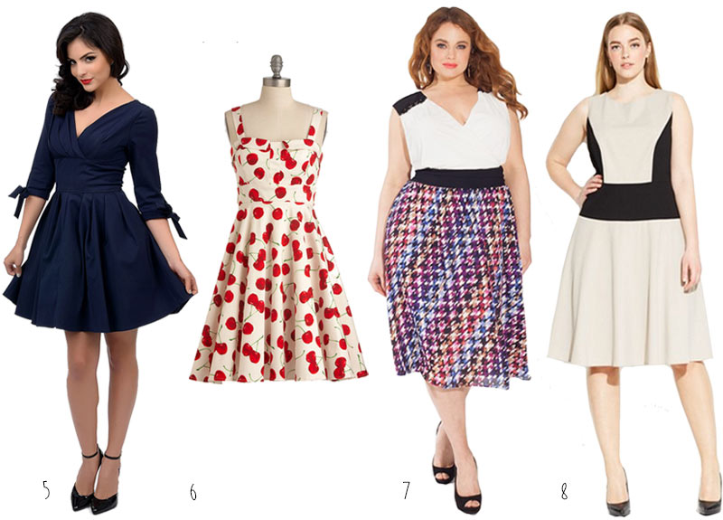 Cute-Plus-Size-Dresses-2015-