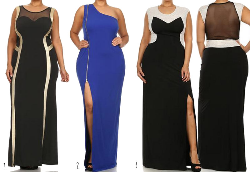 Plus-Size-Prom-Dresses-BodyCon