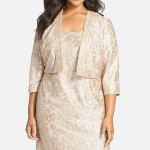 Plus Size Mother of the Bride Dresses for Apple Shapes