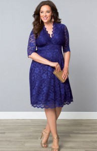 Plus Size Mother of the Bride Dresses for Hourglass Figures