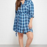 2015 Trend Alert: The Plus Size Plaid Dress
