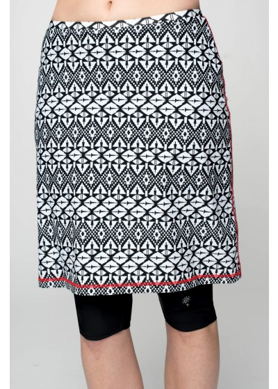 Plus Size Long Swim Skirts