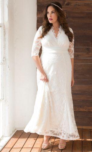 Cheap Plus Wedding Dresses
