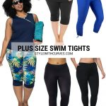 Plus Size Swim Tights