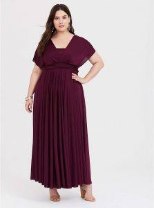 Plus Size Modest Bridesmaid Dresses